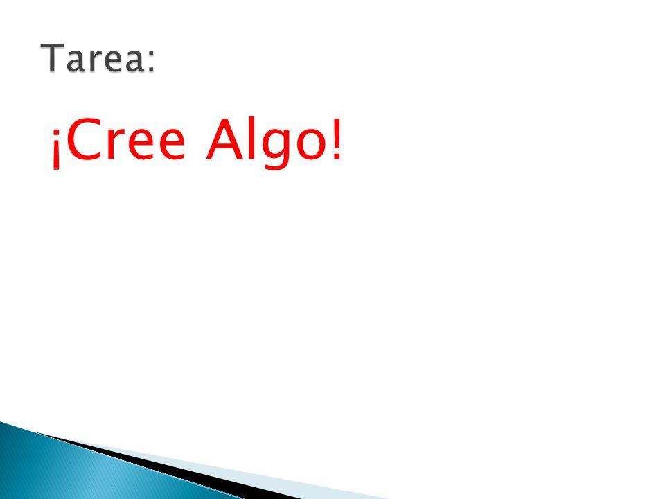¡Cree Algo!