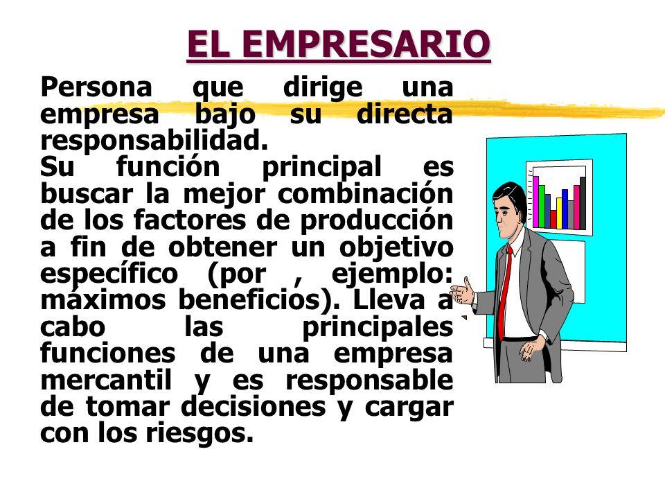 LA EMPRESA Es una actividad en la cual varias personas cambian algo de valor, bien se trate de mercancías o de servicios, con el fin de obtener una ga