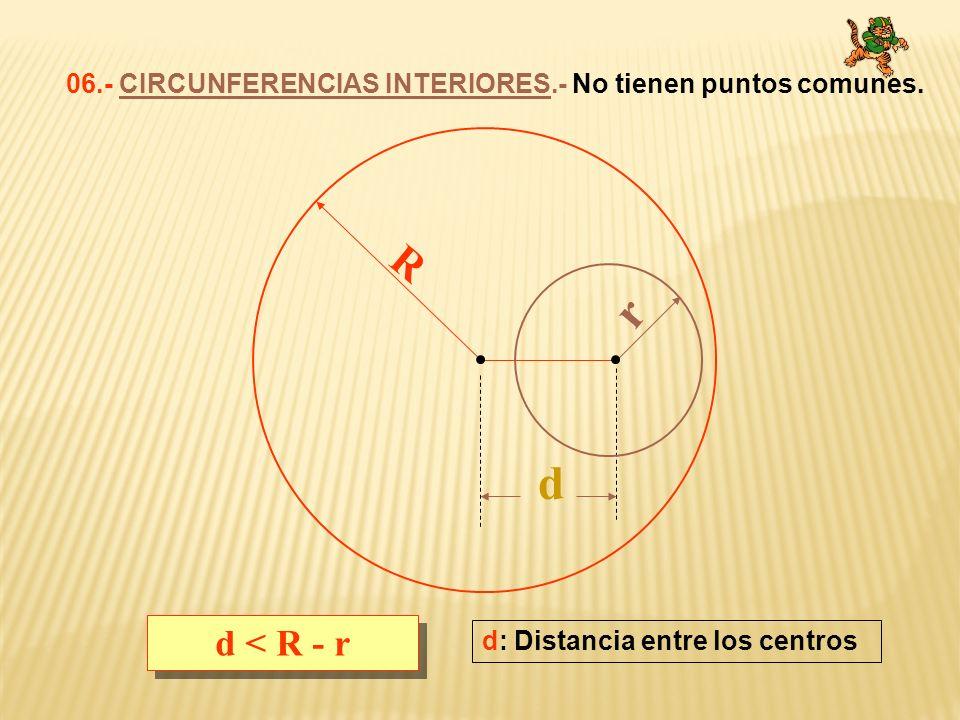 1.- Desde un punto exterior a una circunferencia se puede trazar dos rayos tangentes que determinan dos segmentos congruentes.