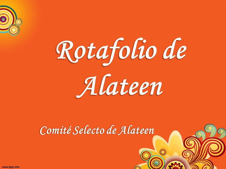 Rotafolio de Alateen Comité Selecto de AlateenComité Selecto de Alateen