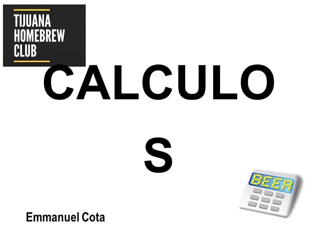 CALCULO S Emmanuel Cota