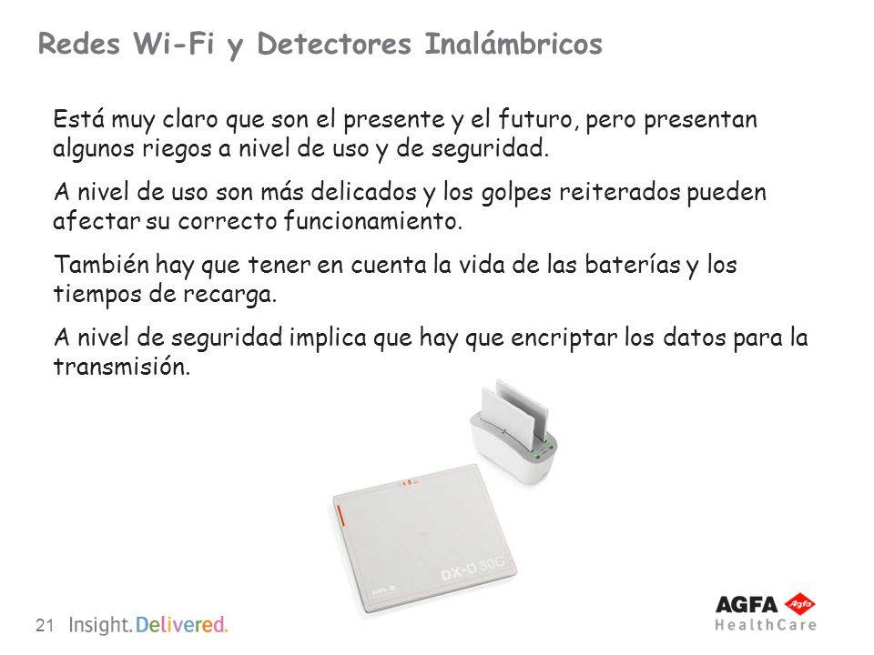 21 Redes Wi-Fi y Detectores Inalámbricos Está muy claro que son el presente y el futuro, pero presentan algunos riegos a nivel de uso y de seguridad.
