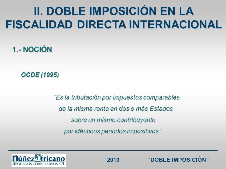 ___________________________________________________________________ 2010DOBLE IMPOSICIÓN CDI ESPAÑA RENTA España sin CDI España Colombia sin CDI Colombia Cánones o Regalías + servicios técnicos, asistencia técnica y consultoría 24% 10% 33% (salvo trato diferenciado) / 10% 10%