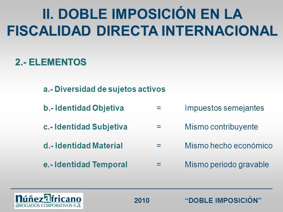 ___________________________________________________________________ 2010DOBLE IMPOSICIÓN CDI CHILE RENTA Chile sin CDI Chile Colombia sin CDIColombia Cánones o Regalías + servicios técnicos, asistencia técnica y consultoría 30% / 20% / 15% 10% 33% (salvo trato diferenciado) / 10% 10%