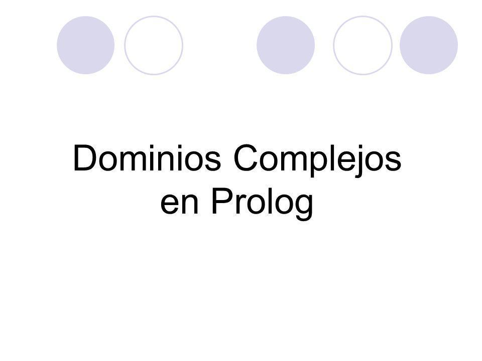 Dominios Complejos en Prolog