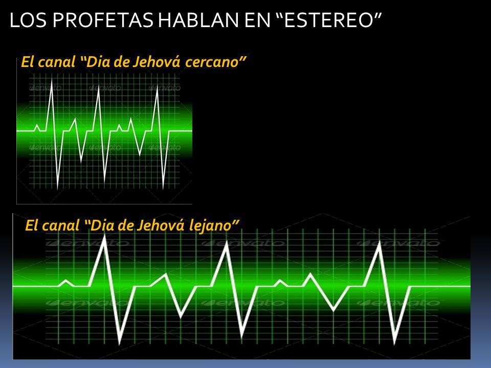 El canal Dia de Jehová cercano El canal Dia de Jehová lejano LOS PROFETAS HABLAN EN ESTEREO