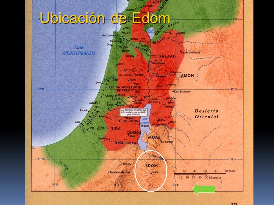 Ubicación de Edom