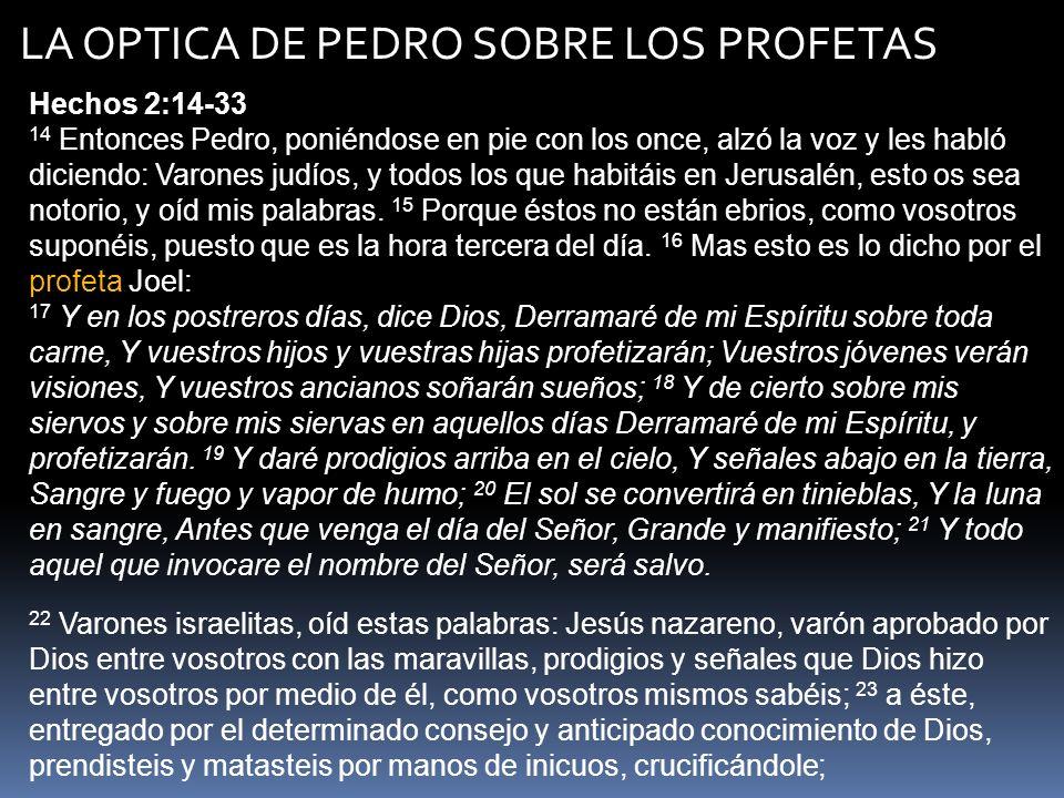 CUATRO POSTURAS SOBRE LA RELACION ENTRE JOEL 2 Y HECHOS 2 – PROMESA DEL ESPIRITU 1.