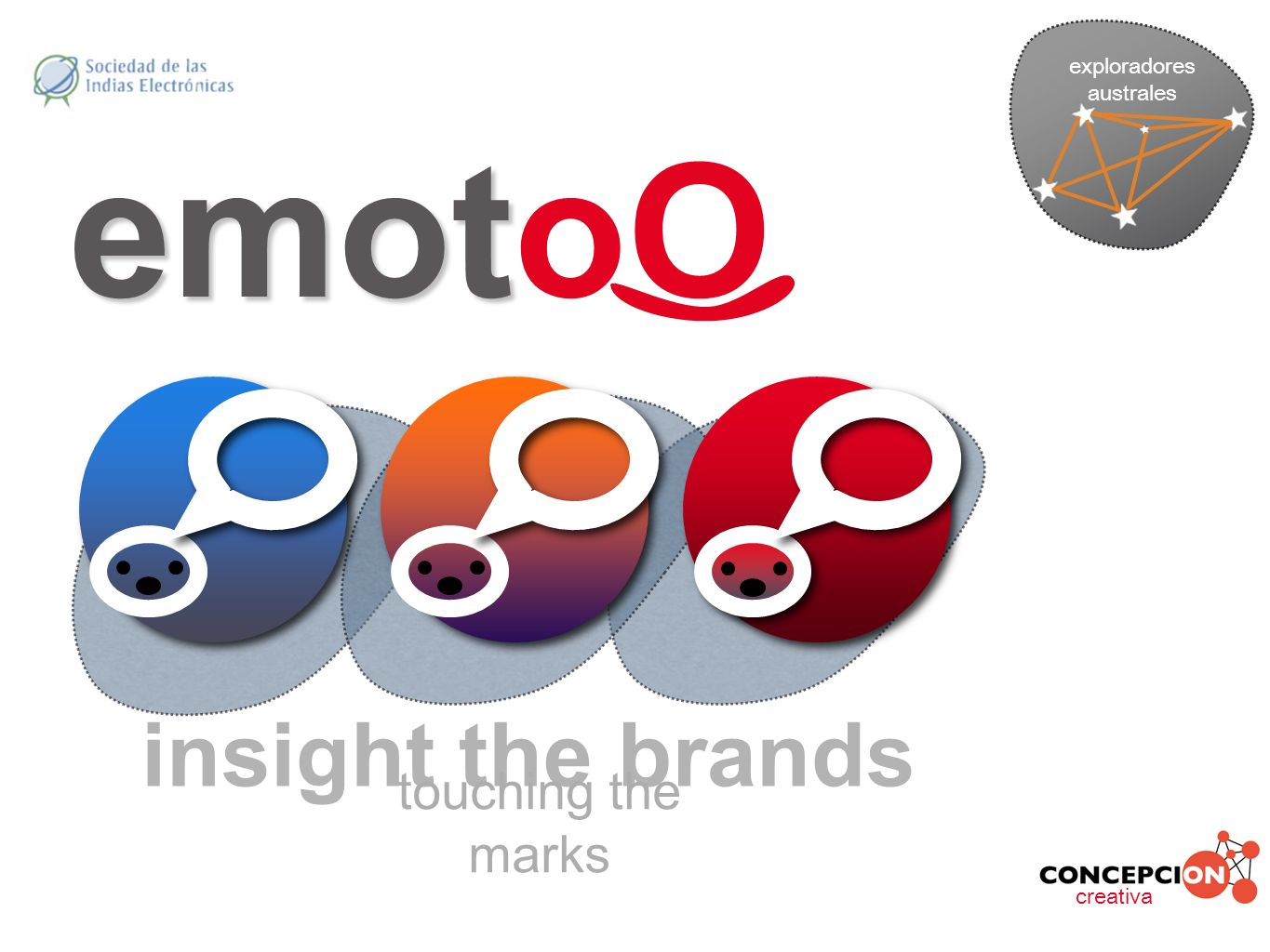 insight the brands touching the marks creativa exploradores australes emot emotoO