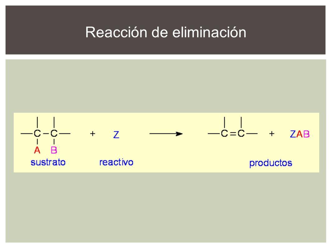 Reacción de eliminación