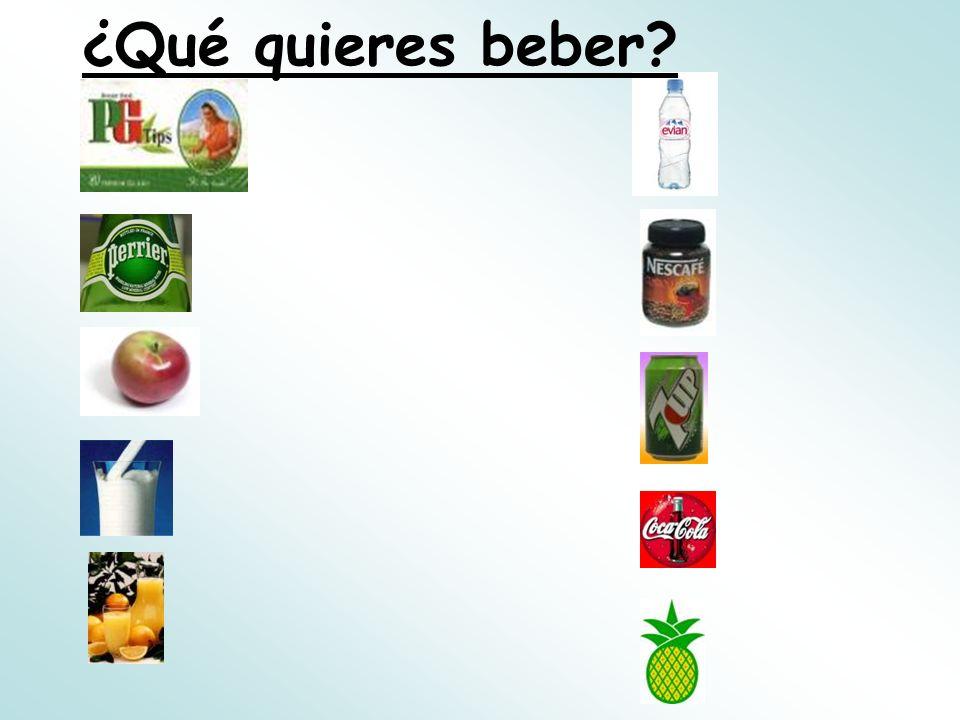 ¿Cómo se dice en español.1.What do you want to have.