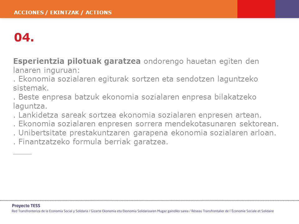 ACCIONES / EKINTZAK / ACTIONS 04.