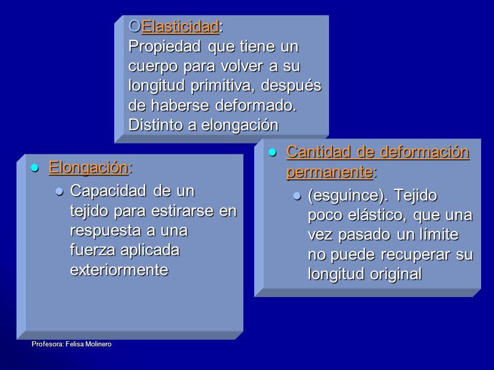 Profesora: Felisa Molinero DIFFERENTES GRUPOS MUSCULARES RELACIONADOS 1.