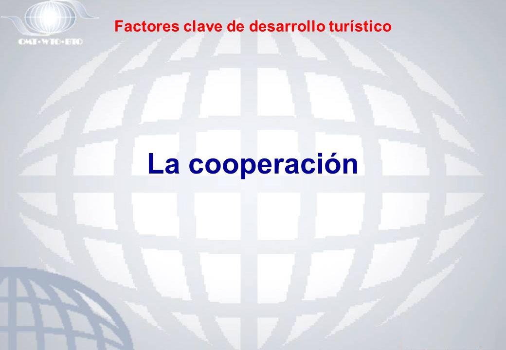 Factores clave de desarrollo turístico La cooperación