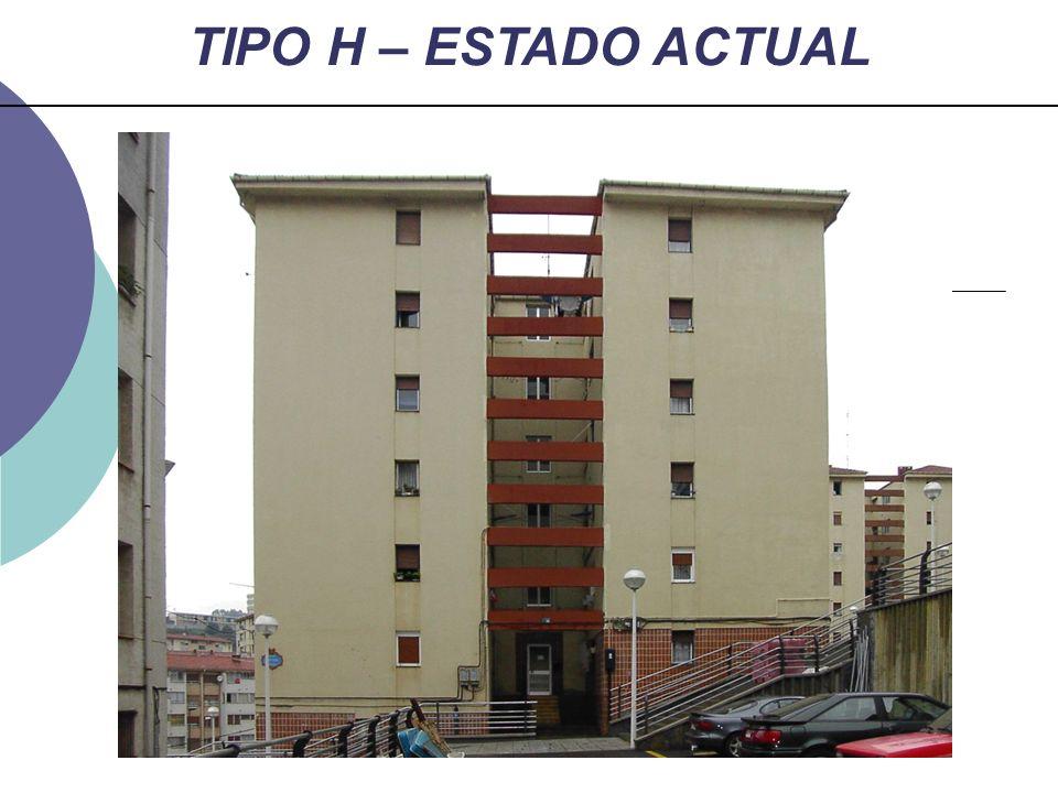 TIPO H – ESTADO ACTUAL