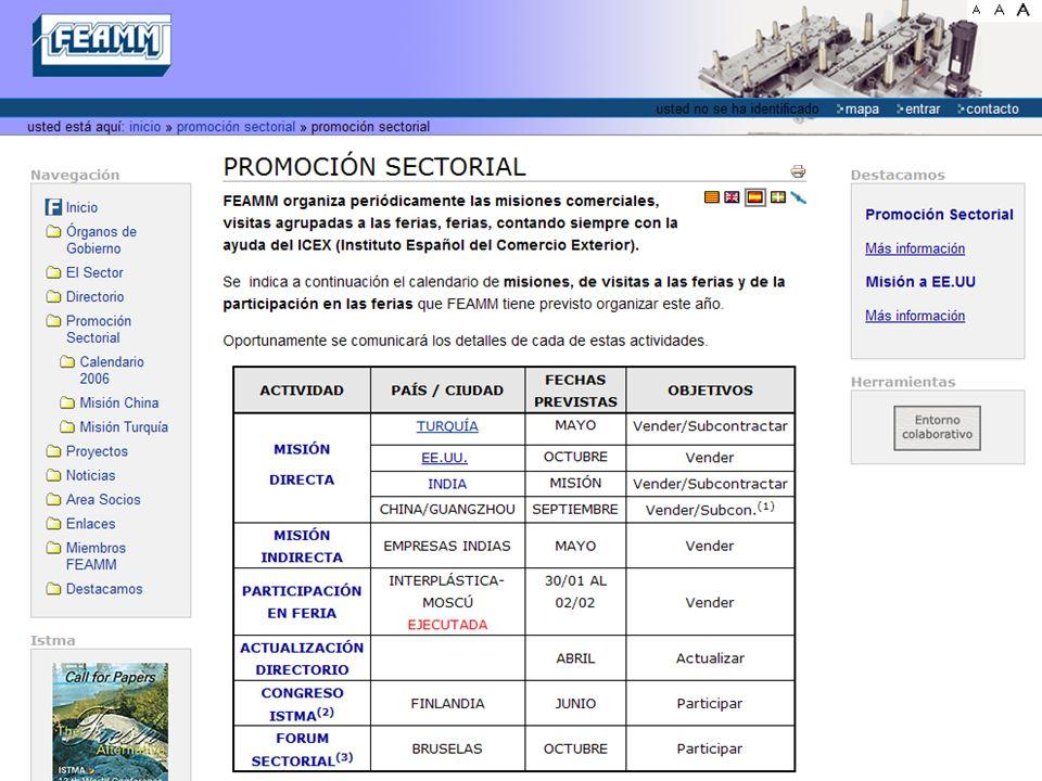 Promoción internacional 2007