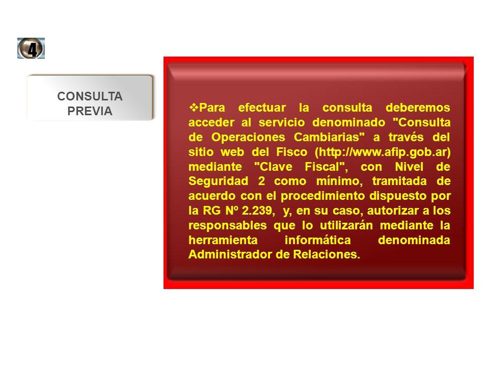 Para efectuar la consulta deberemos acceder al servicio denominado