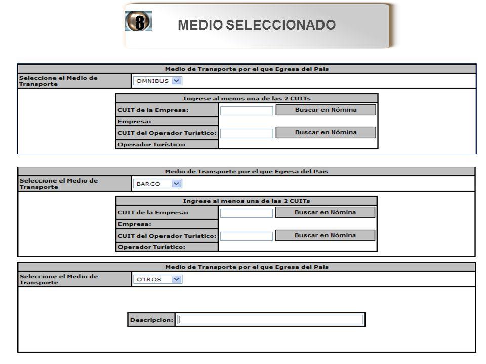 MEDIO SELECCIONADO8