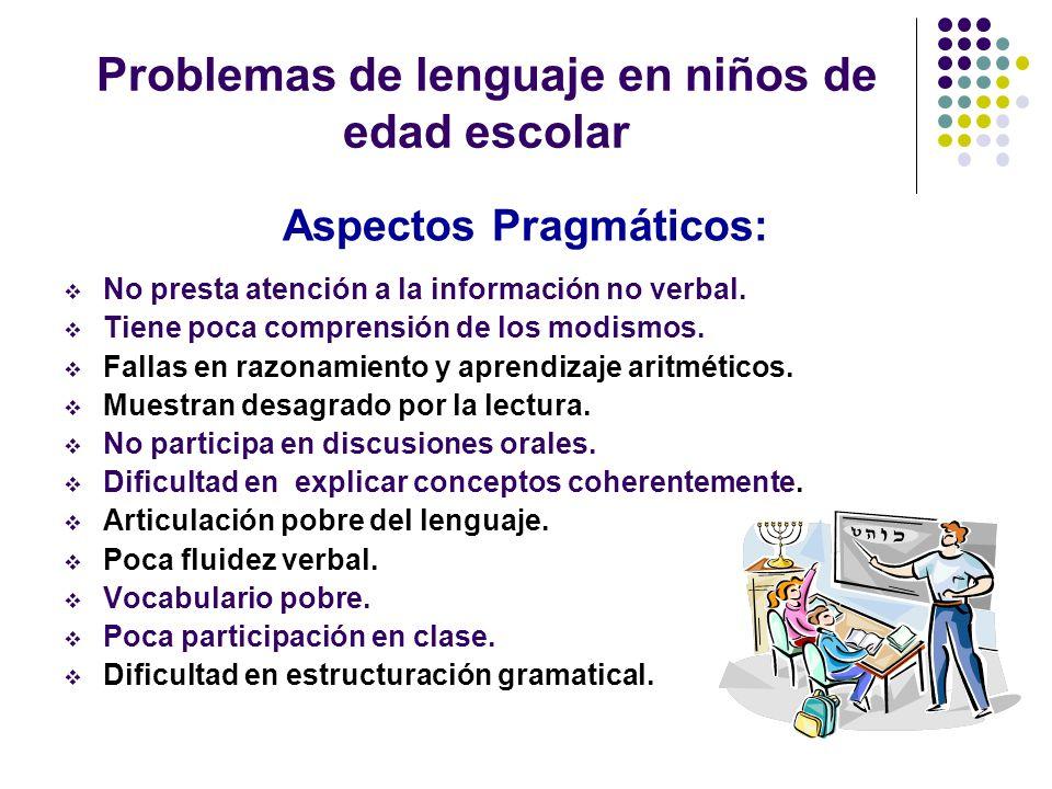 TRASTORNOS ESPECÍFICOS LENGUAJE TRASTORNO POR PATOGENIA ANÁRTRICA ASPECTO FONOLOGICO - SINTACTICO Afecta procesamiento fonológico.