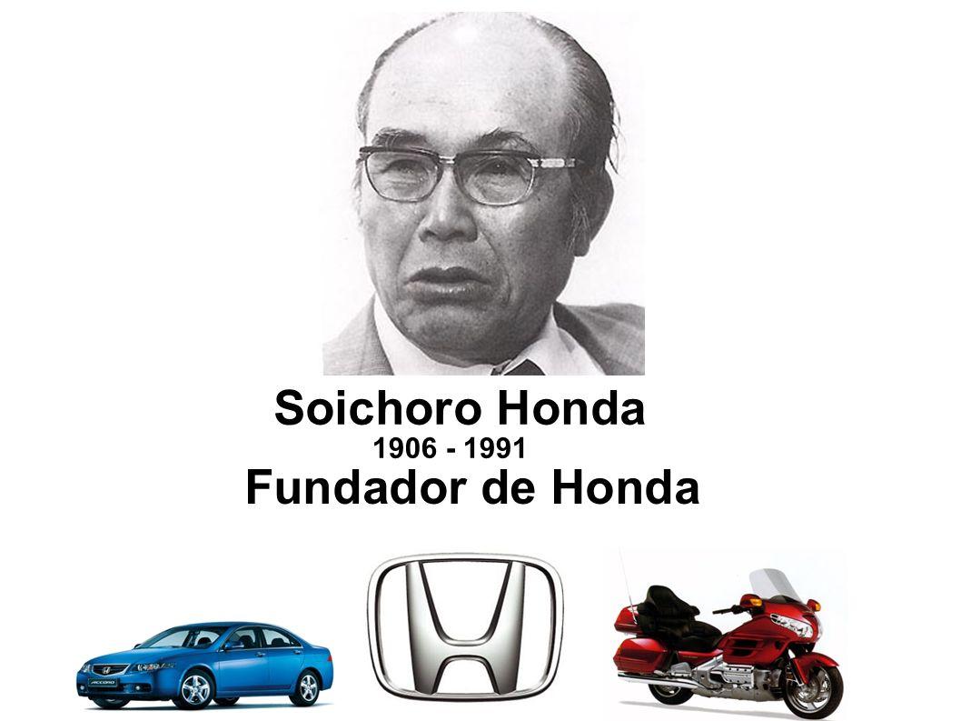 Soichoro Honda Fundador de Honda 1906 - 1991