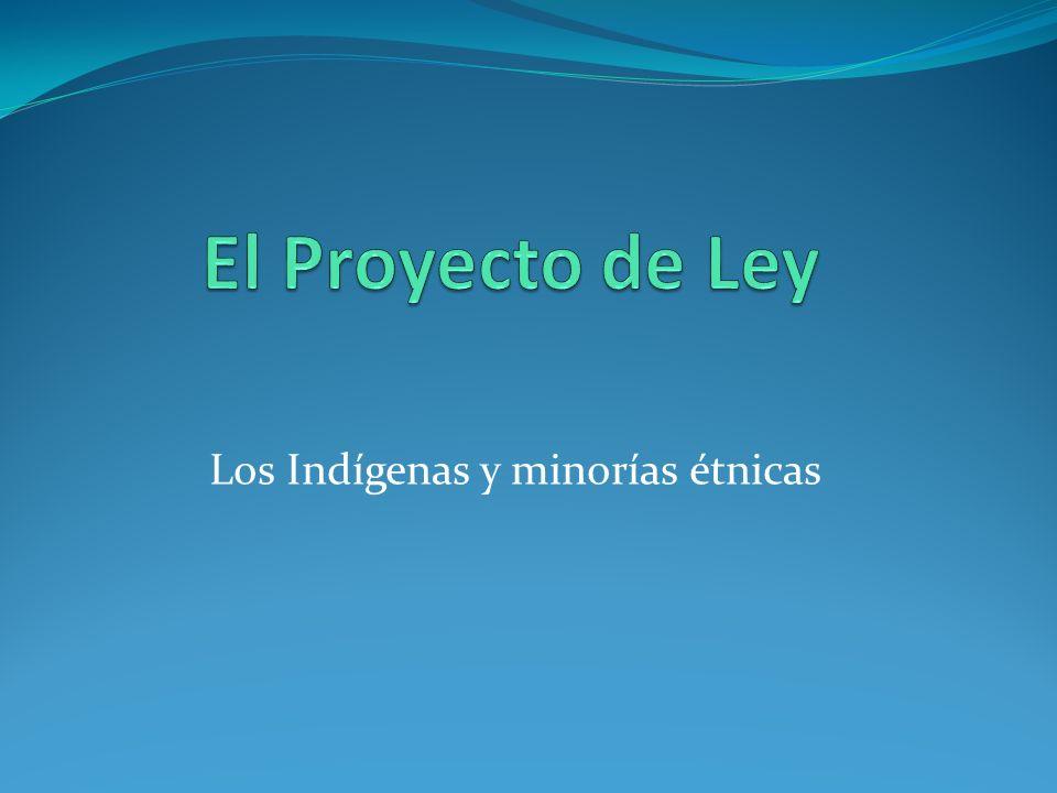 Los Indígenas y minorías étnicas
