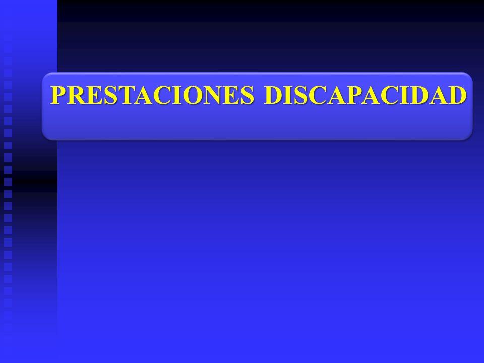 PRESTACIONES DISCAPACIDAD