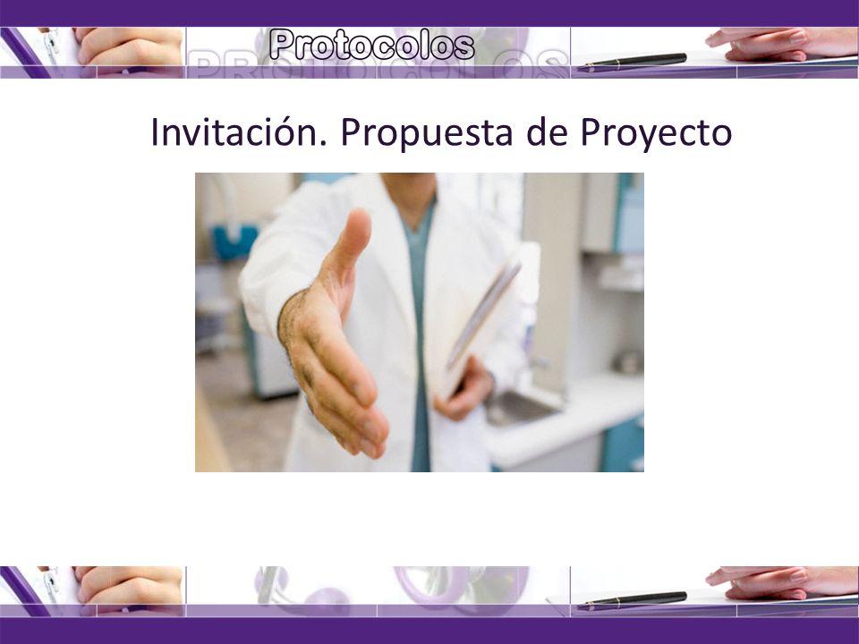 04/11/2013solangel@infomed.sld.cu Invitación. Propuesta de Proyecto
