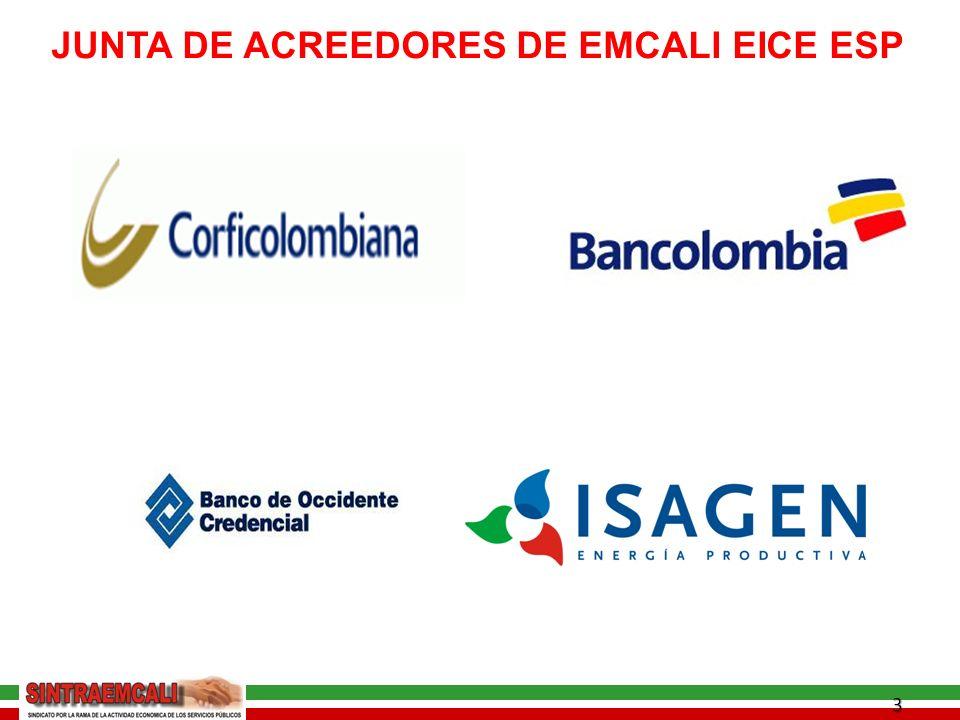 3 JUNTA DE ACREEDORES DE EMCALI EICE ESP