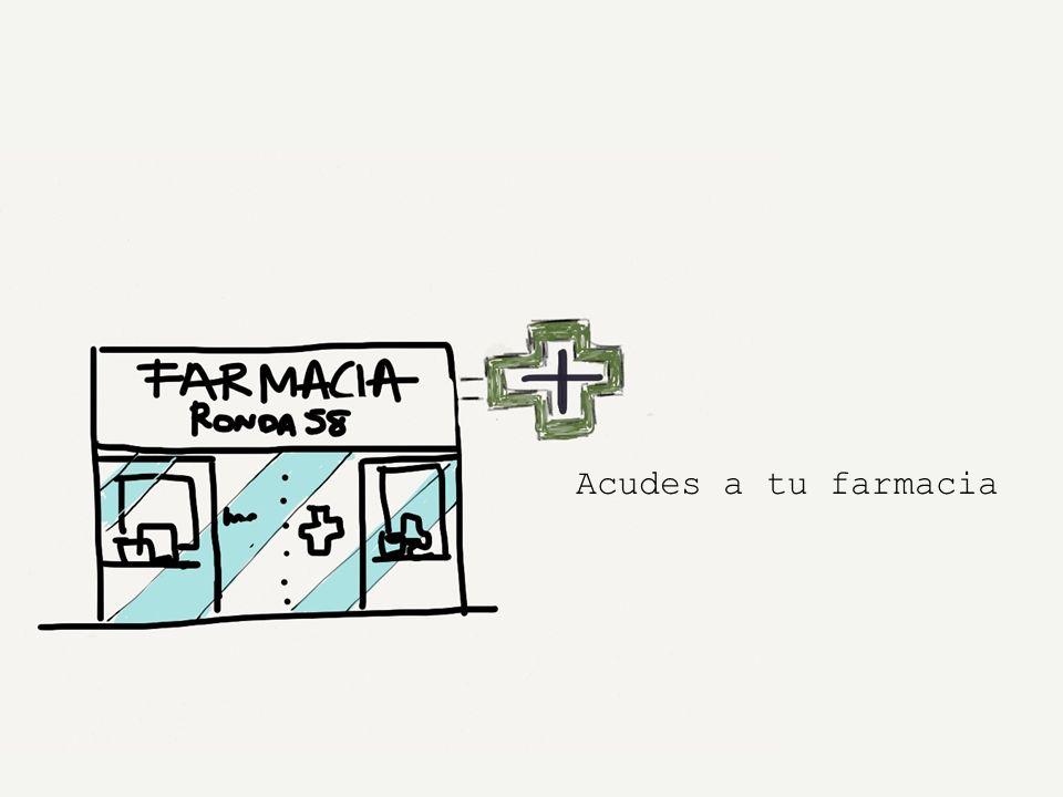 Acudes a tu farmacia