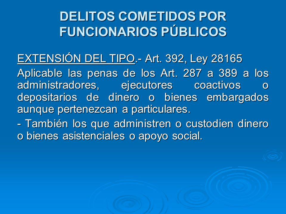 DELITOS COMETIDOS POR FUNCIONARIOS PÚBLICOS CORRUPCIÓN DE FUNCIONARIOS.- Art.
