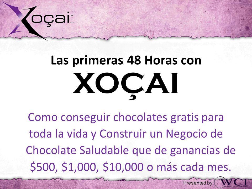 Las primeras 48 Horas con XOÇAI Como conseguir chocolates gratis para toda la vida y Construir un Negocio de Chocolate Saludable que de ganancias de $500, $1,000, $10,000 o más cada mes.