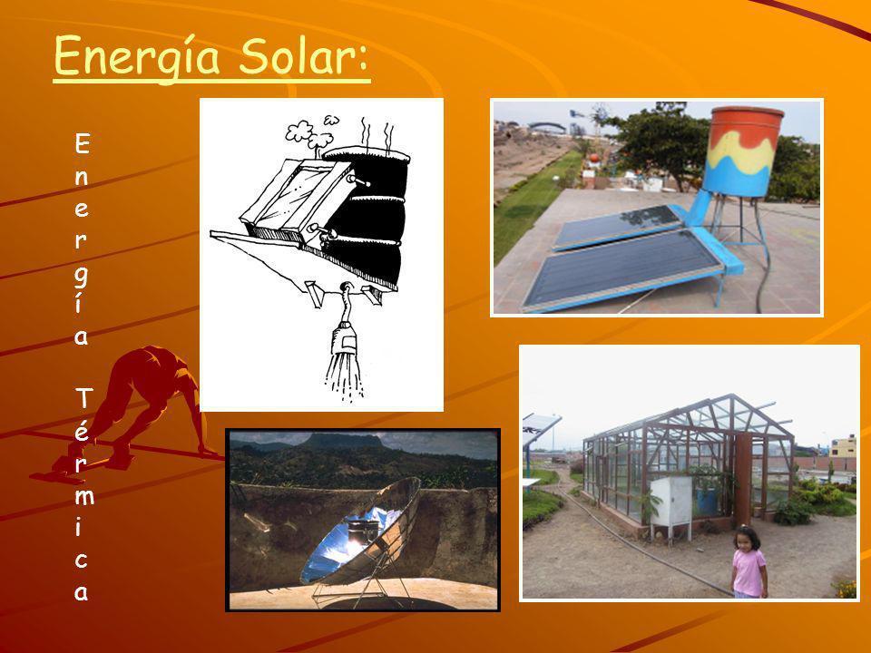 Energía Solar: Energía TérmicaEnergía Térmica