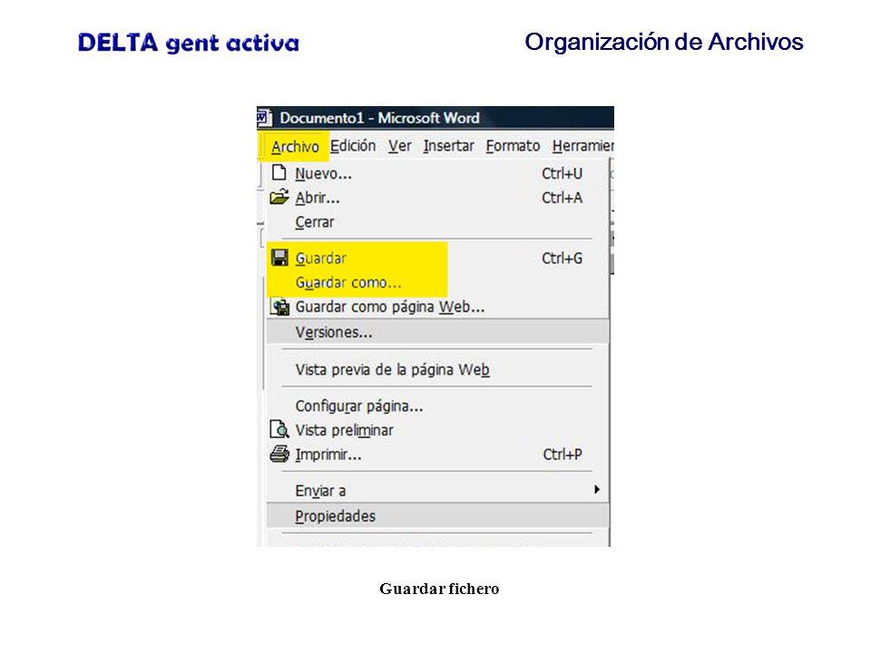 Organización de Archivos Guardar como... (1)