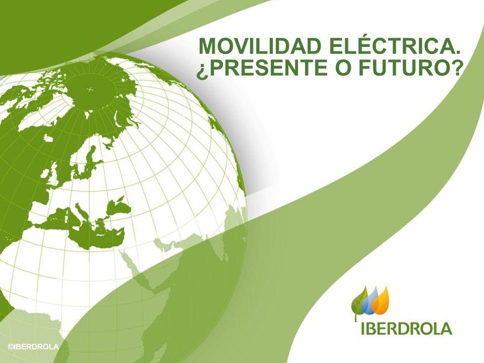 MOVILIDAD ELÉCTRICA. ¿PRESENTE O FUTURO? ©IBERDROLA