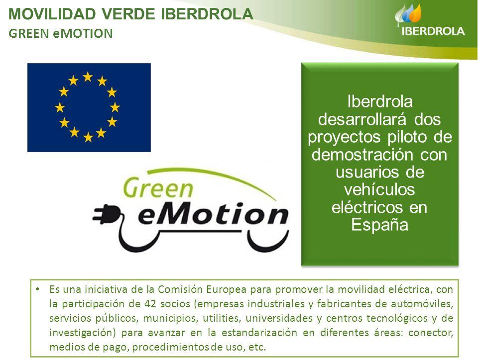 Es una iniciativa de la Comisión Europea para promover la movilidad eléctrica, con la participación de 42 socios (empresas industriales y fabricantes