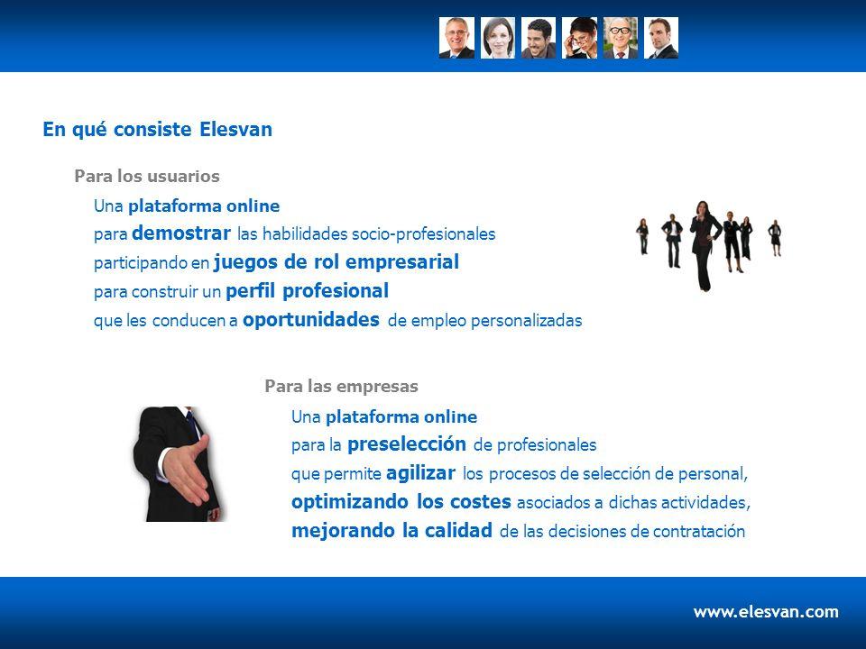 Una plataforma online para demostrar las habilidades socio-profesionales participando en juegos de rol empresarial para construir un perfil profesiona