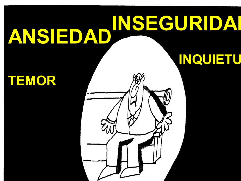 ANSIEDADTEMOR INSEGURIDAD INQUIETUD INQUIETUD