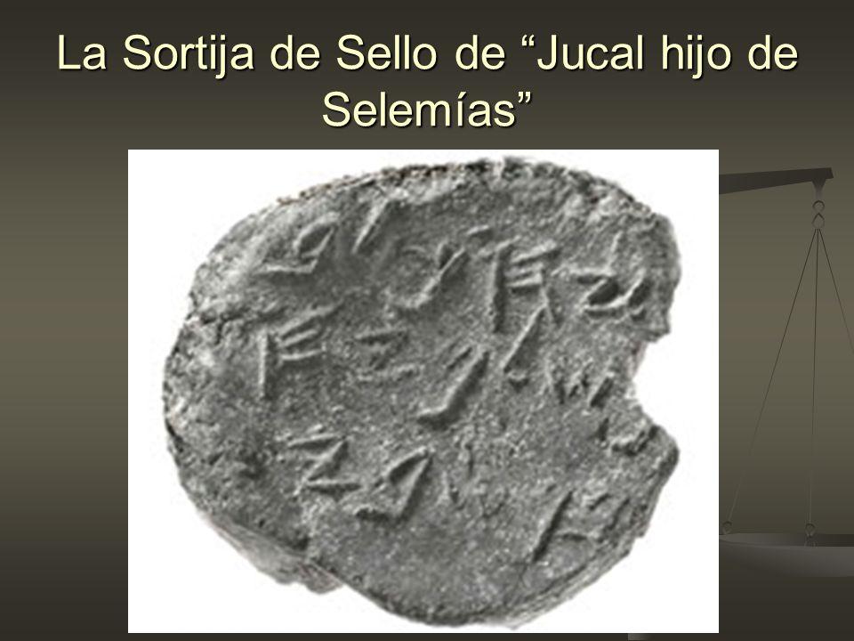 La Sortija de Sello de Jucal hijo de Selemías