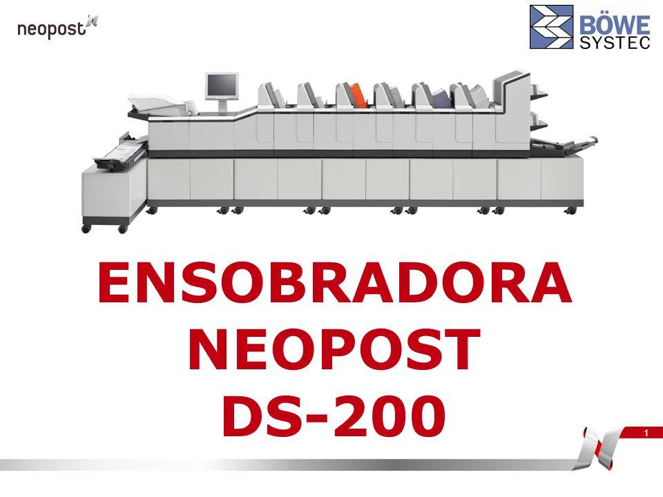 1 ENSOBRADORA NEOPOST DS-200