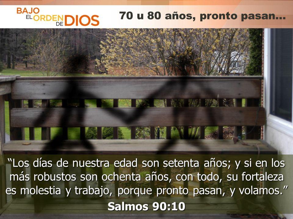© 2013 Todos los derechos reservados ® Bajo el Orden de Dios es una marca registrada Hazme saber mi fin...