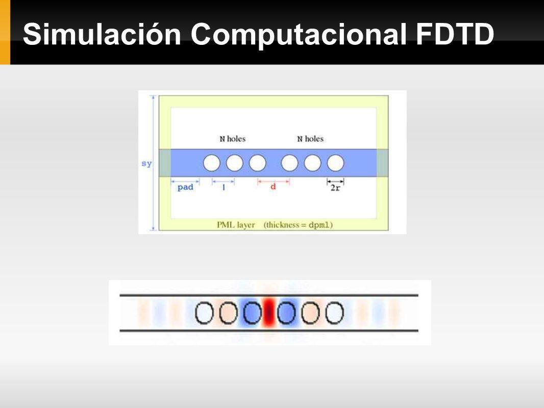 Simulación Computacional FDTD
