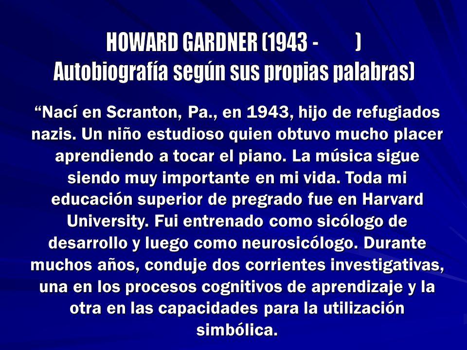 Nací en Scranton, Pa., en 1943, hijo de refugiados nazis. Un niño estudioso quien obtuvo mucho placer aprendiendo a tocar el piano. La música sigue si