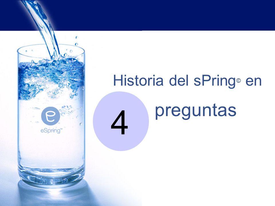 Historia del sPring © en 4 preguntas