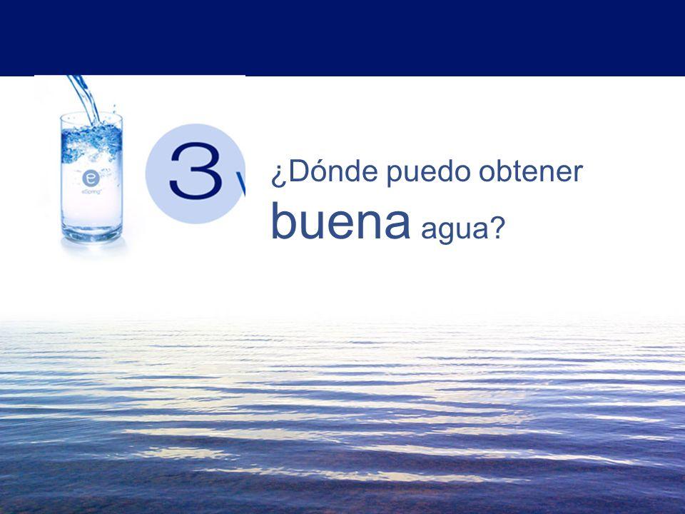 El Agua es buena para ti, si es buena agua 2 ¿Que puede hacer el agua por ti?
