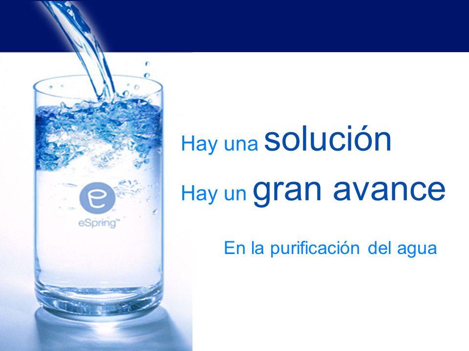 ninguna tecnología lo hace todo sin embargo… 3 ¿Dónde puedo obtener buena agua?