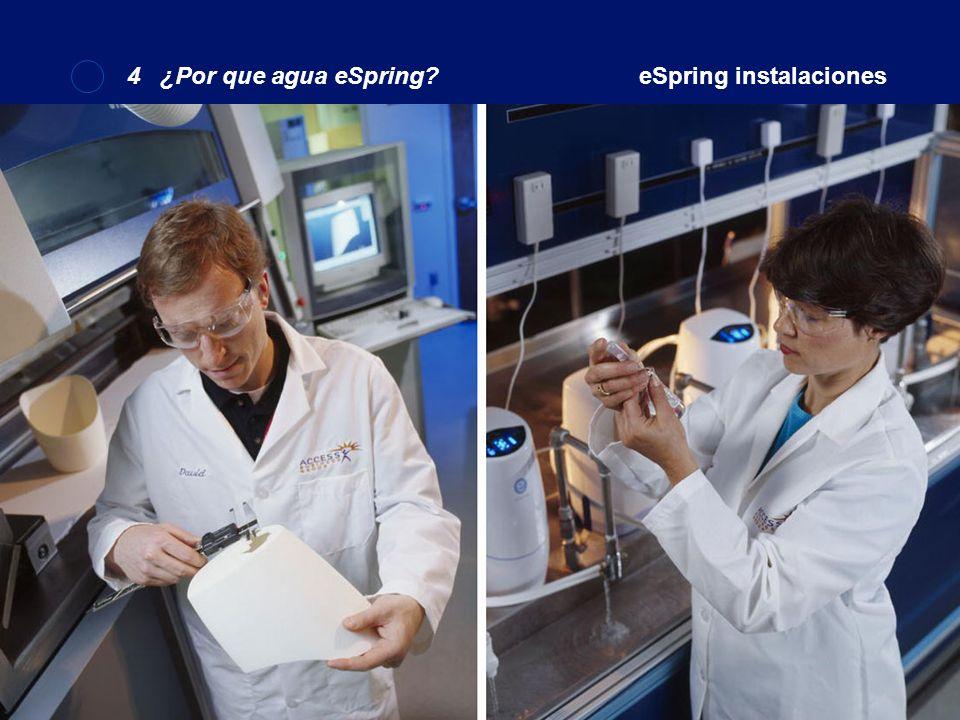 Instalaciones eSpring4 ¿Por que Agua sPring?