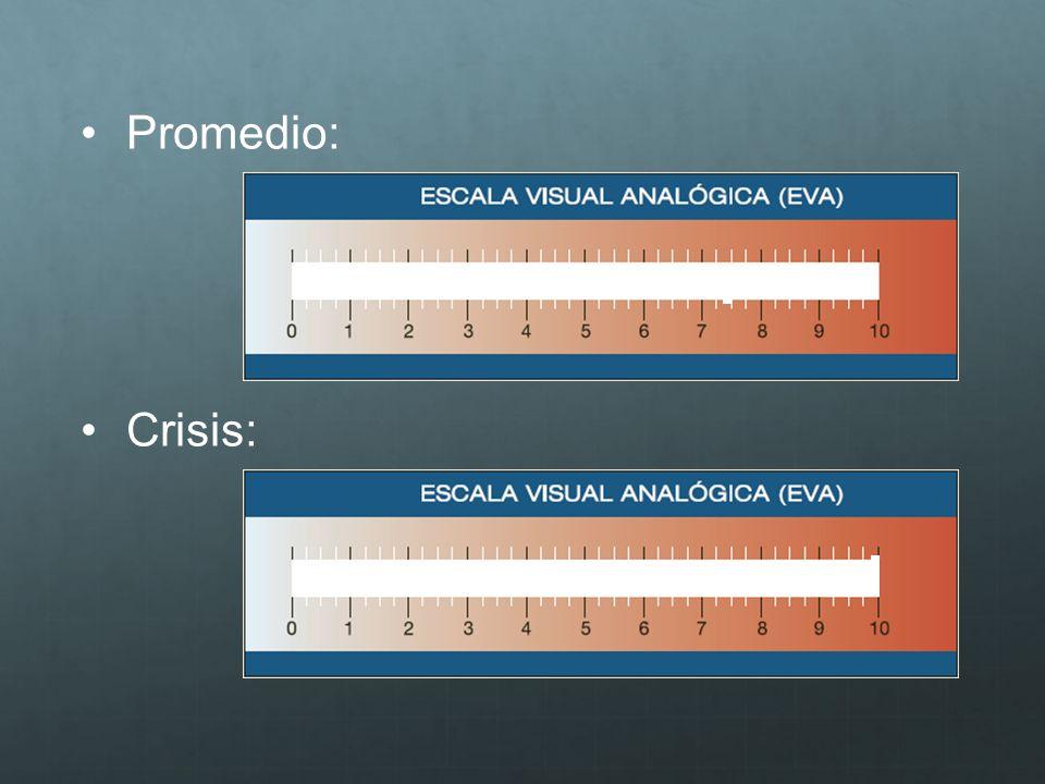 Promedio: Crisis: