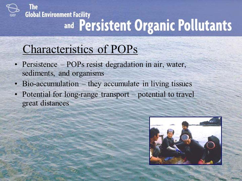 ¿Qué son los contaminantes orgánicos persistentes.