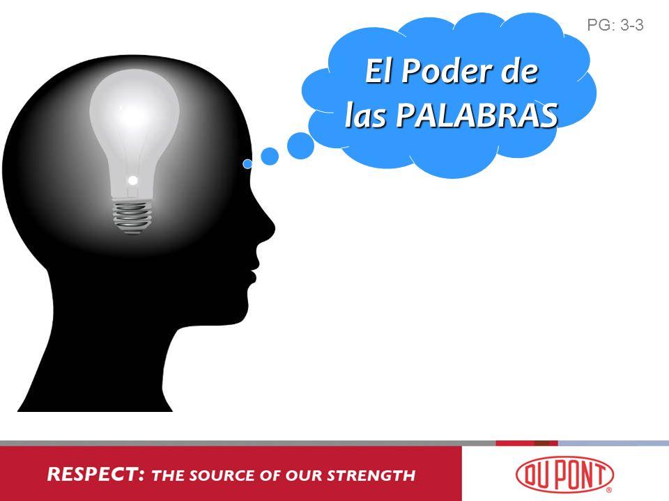 El Poder de las PALABRAS PG: 3-3