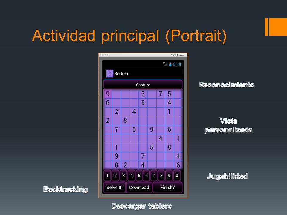Actividad principal (Portrait)